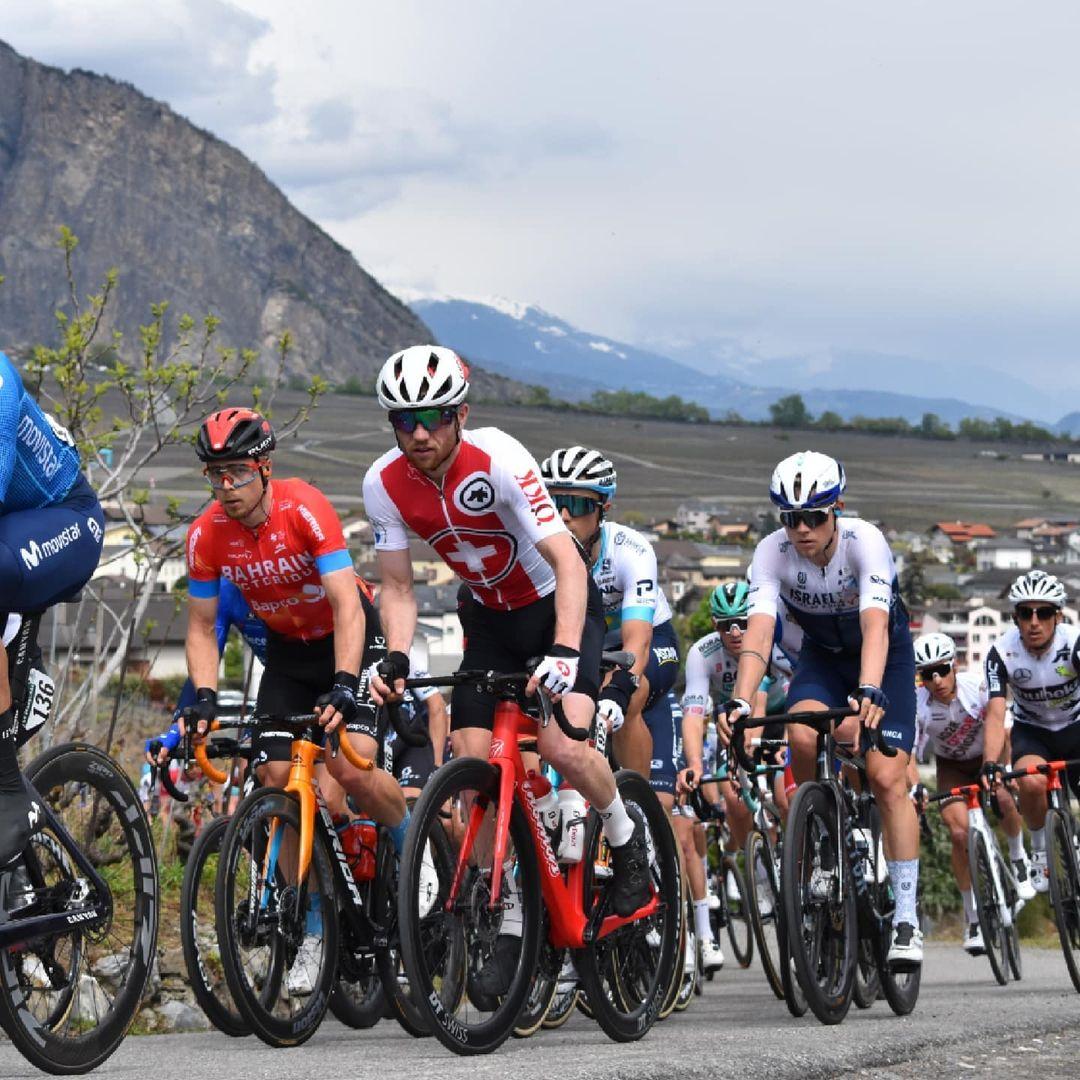 Mathias Flückiger al Tour de Romandie