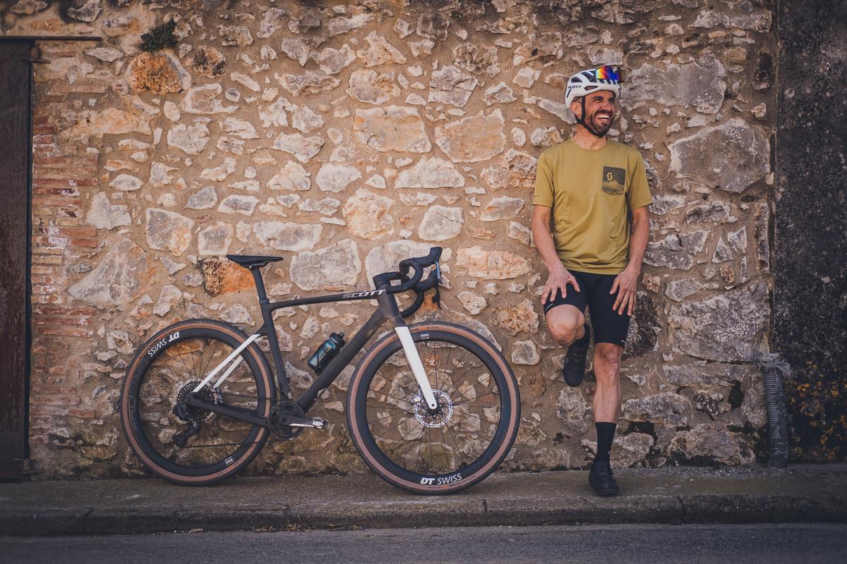 Azione bici gravel Scott Addict Gravel 2022