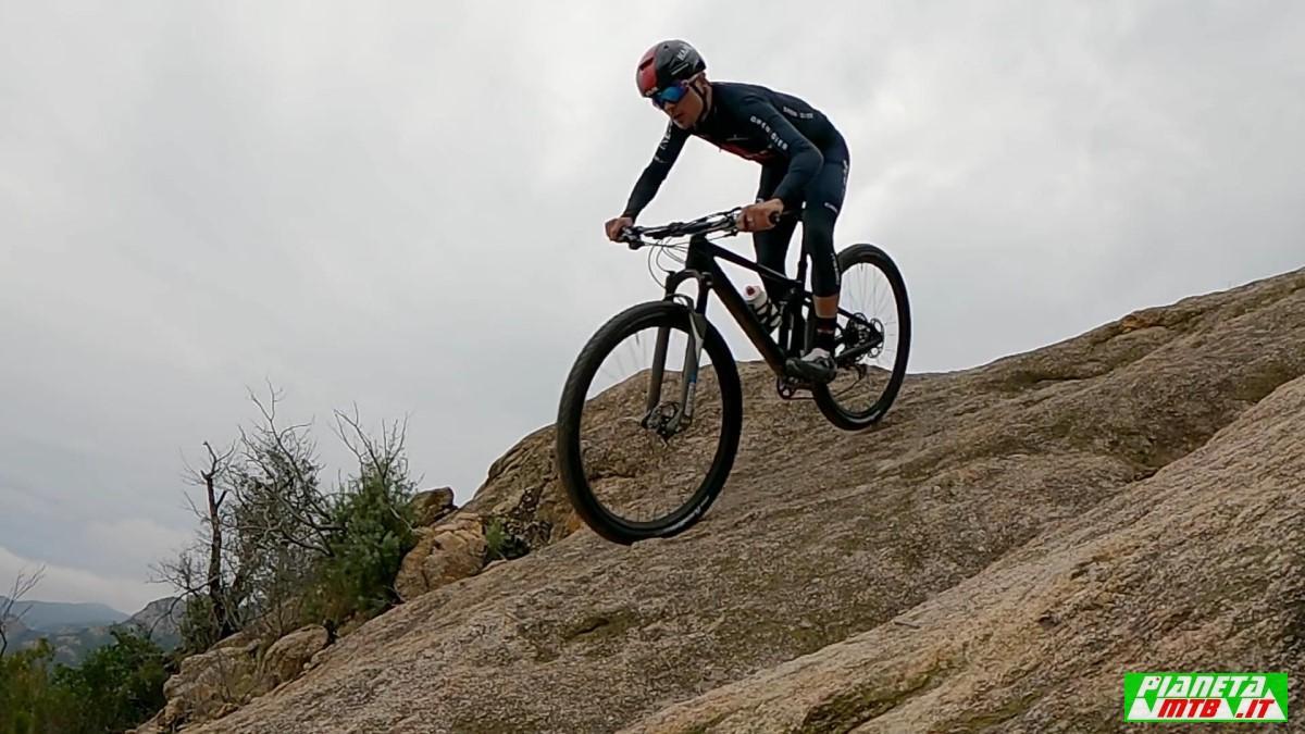 Tom Pidcock test bike