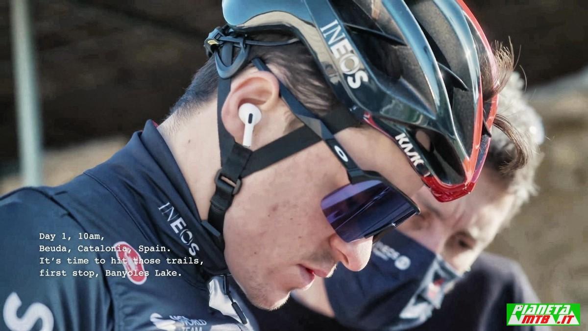 Tom Pidcock test bici
