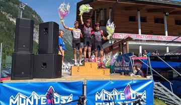 Bottecchia Factory Team, Dal Grande vince la Monterosa Prestige