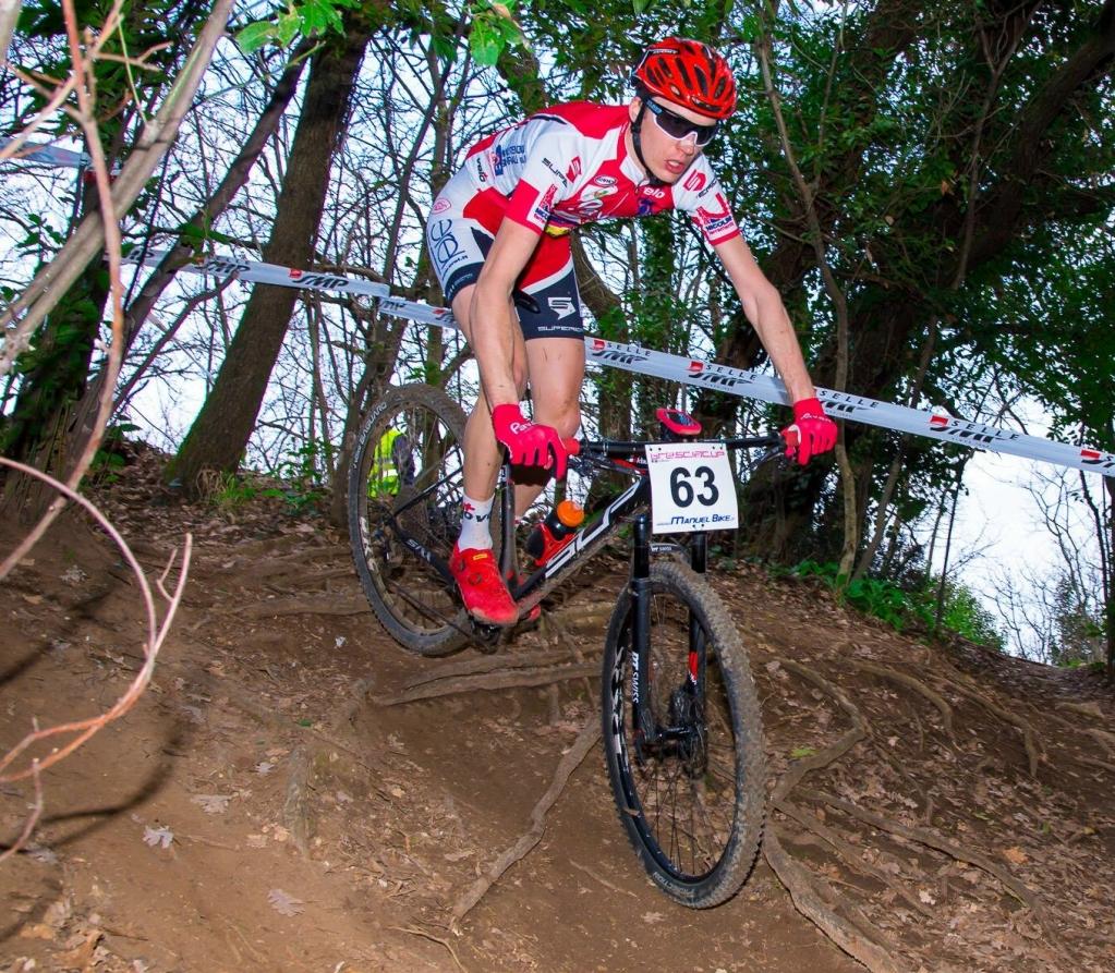Renato Cortiana vincitore di tre gare nel 2019, l'ultima il 25 aprile ad Egna