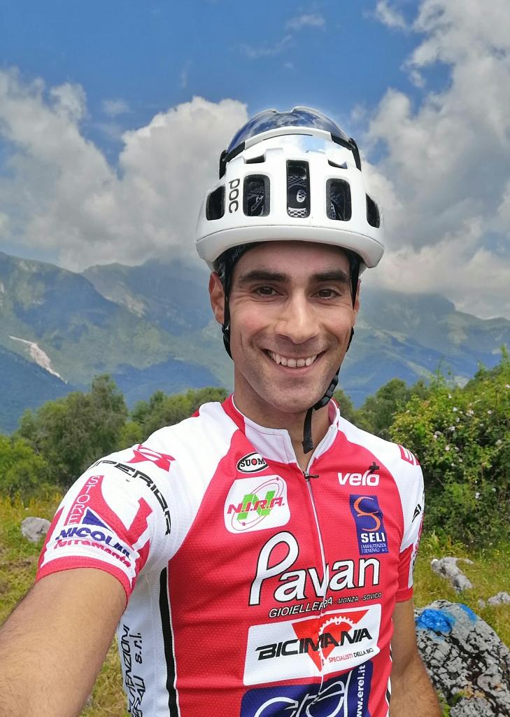 Giuseppe Mascheri biker di Pavan Free Bike