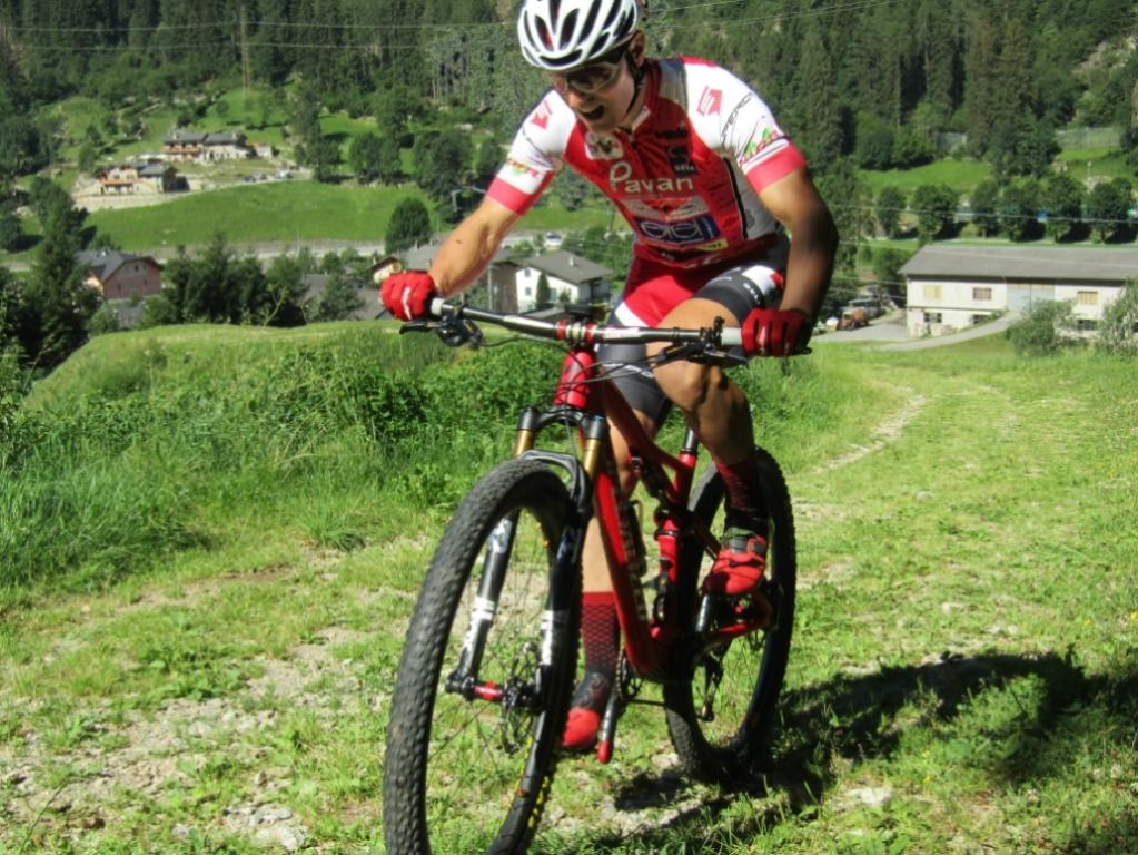 Giorgio Redaelli durante il training camp di Branzi