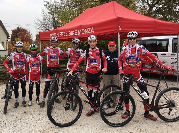Pavan Free Bike al primo test della nuova Superior Team Elite 29