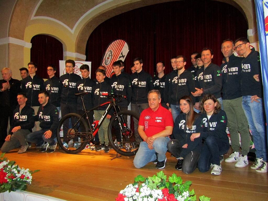 Presentazione 2019 dei programmi sportivi di Pavan Free Bike