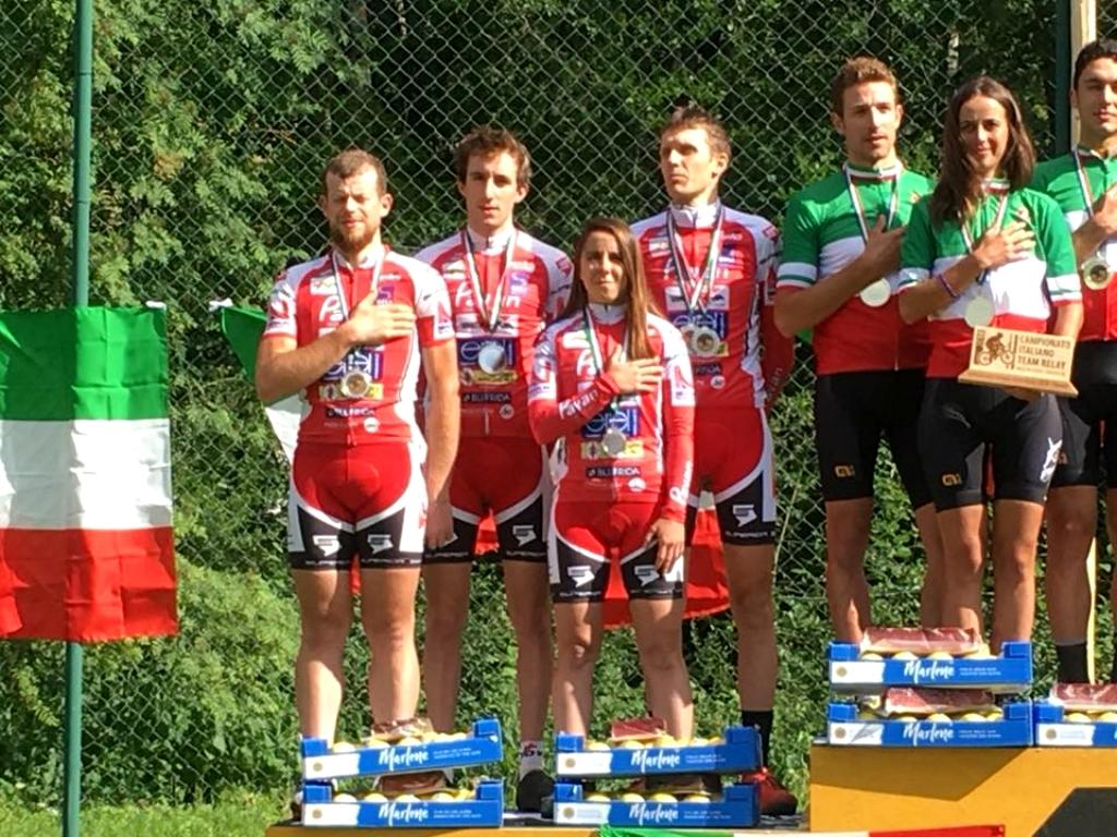 Medaglia d'argento per Pavan Free Bike al Campionato Italiano Team Relay