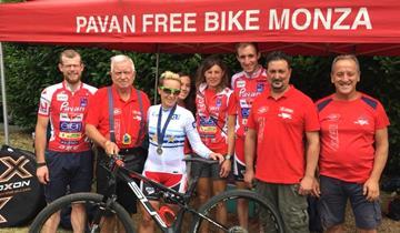 Pavan Free Bike raddoppia, dopo il tricolore anche l'Europeo
