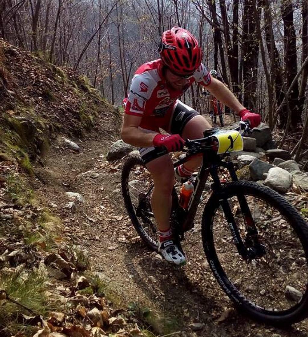 Cristian Vaira sfiora la vittoria a Cerveno nella prima gara di Valcamonica Bike Cup 2018