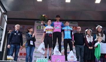 Maglia rosa per De Paolis al giro d'Italia CX