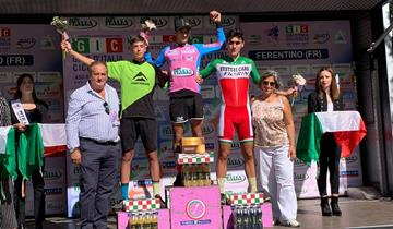Race Mountain, due maglie alla prima del Giro d'Italia CX