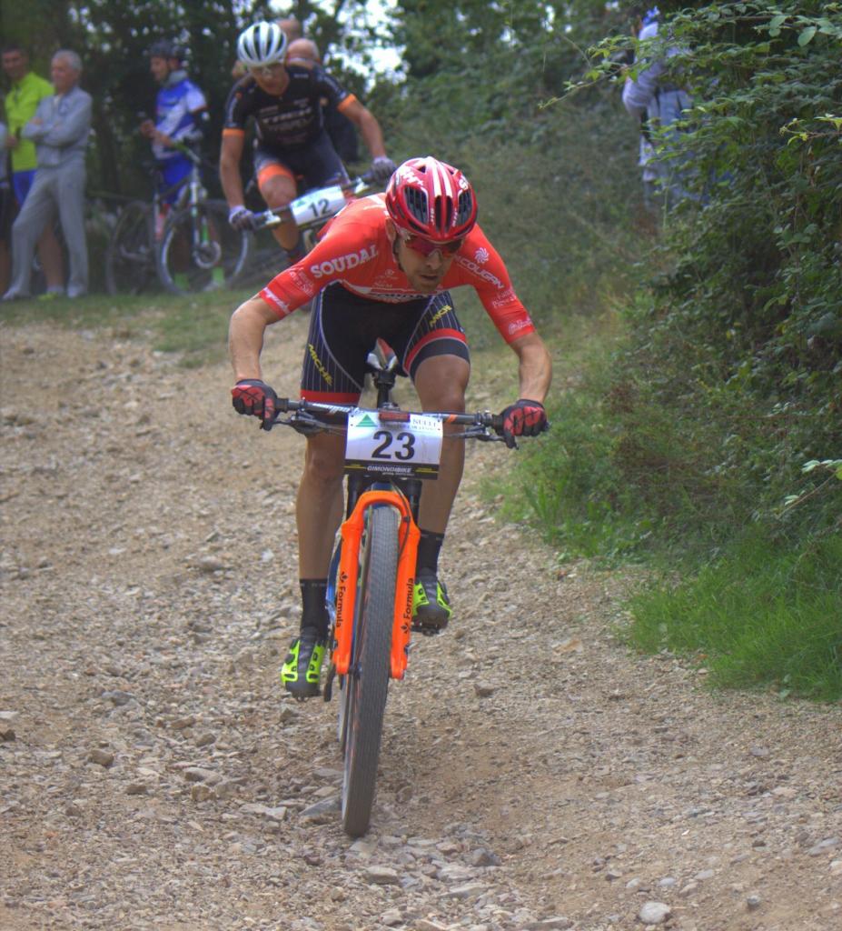 Cristian Cominelli settimo alla Gimondi Bike, per la terza volta nella Top Ten