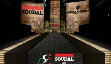 Il dietro le quinte della presentazione di SOUDAL-LEE COUGAN Racing Team