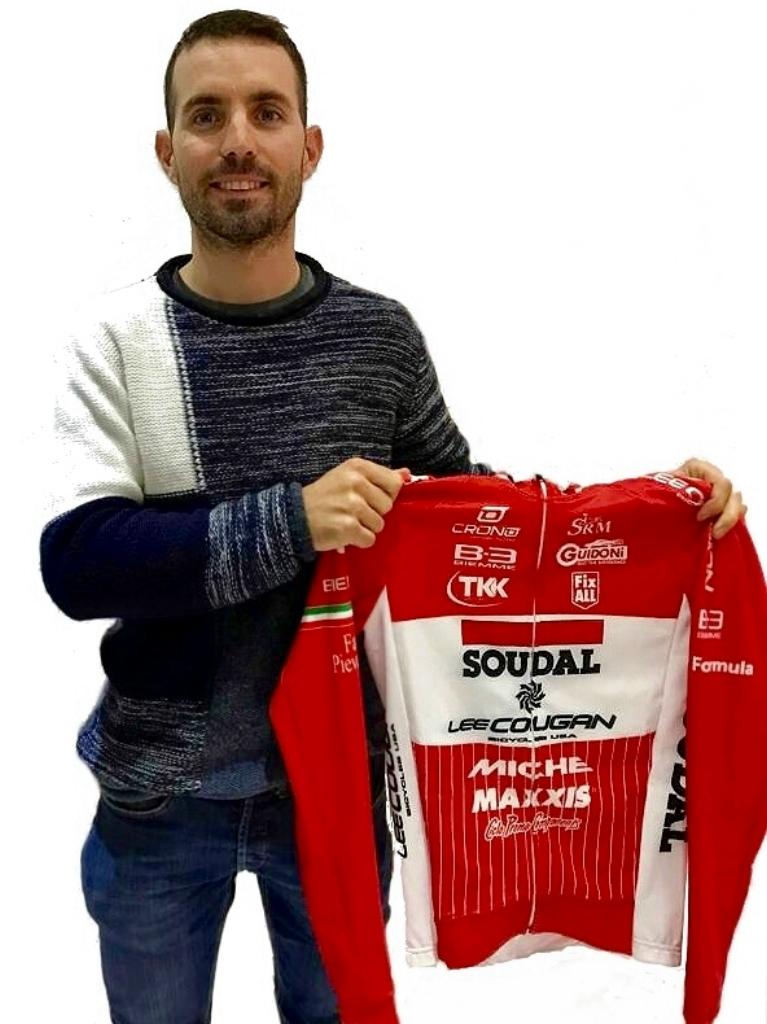 Elia Favilli è il nuovo acquisto di Soudal-Lee Cougan Racing Team per il 2019