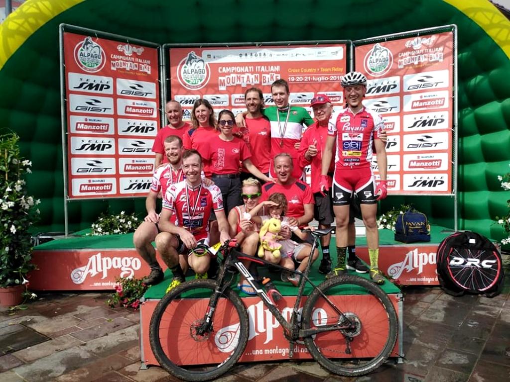 Pavan Free Bike grande protagonista dei tricolori di Chies d'Alpago