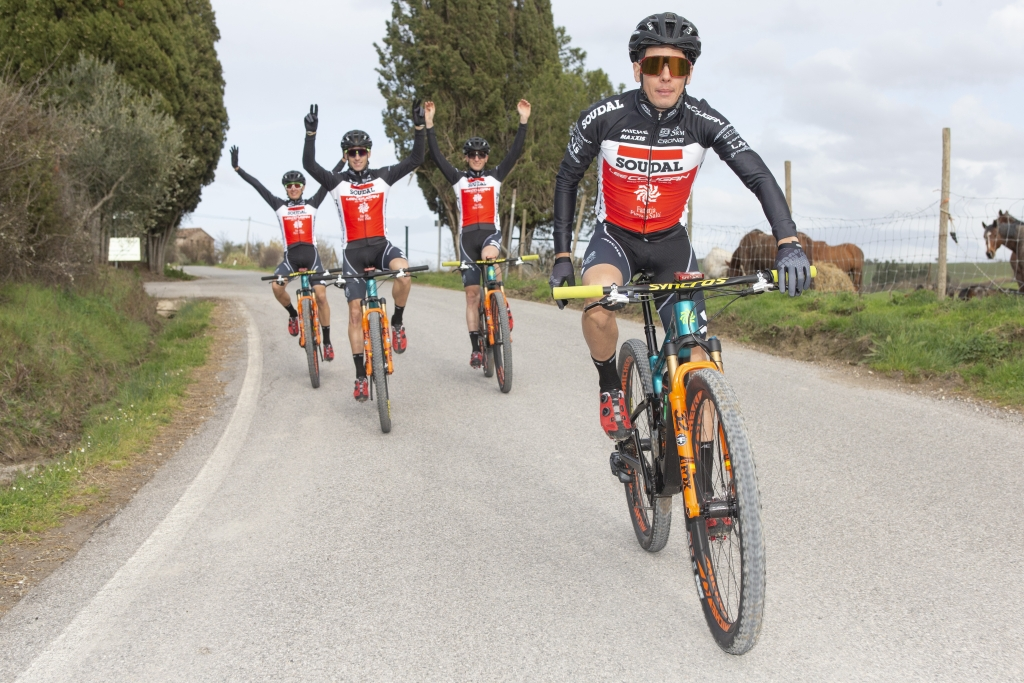 SOUDAL-LEE COUGAN Racing Team in ritiro pre-stagionale a Pieve a Salti