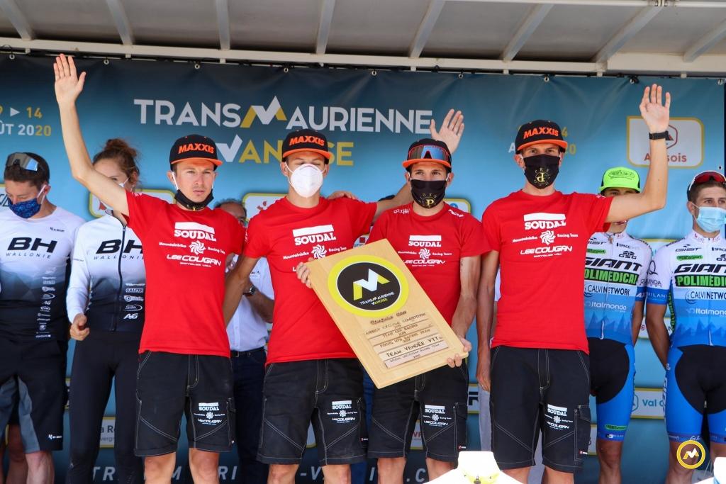 Soudal-Lee Cougan Racing Team vince la classifica team della Transmaurienne Vanoise