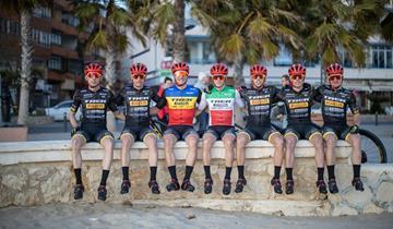 Il team Trek-Pirelli