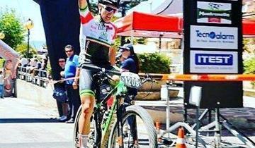 Francesco Favale nel 2020 in maglia New Bike 2008 RT