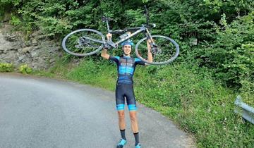Linetti (New Bike 2008) porta a termine un Everesting