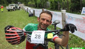 Racing Rosola protagonista assoluta con Carlo Zaglio alla Sunset Bike