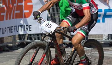 Racing Rosola, Leo Arici a segno alla Bacialla Bike