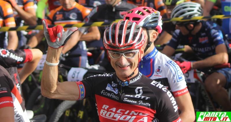 Leonardo Arici alla D'Annunzio Bike