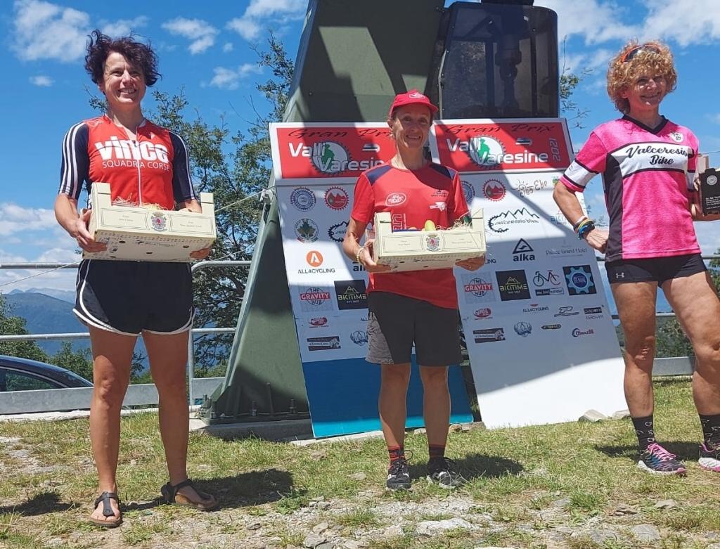 Karin Tosato vince la terza gara del Gran Prix Valli Varesine a Forcora