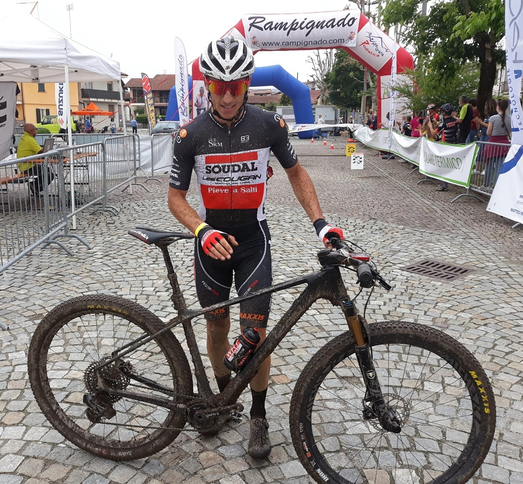 il vincitore della Rampignado 2021, Jacopo Billi
