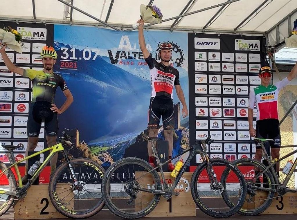 Alexey Medvedev trionfa per la seconda volta alla Alta Valtellina Bike Marathon