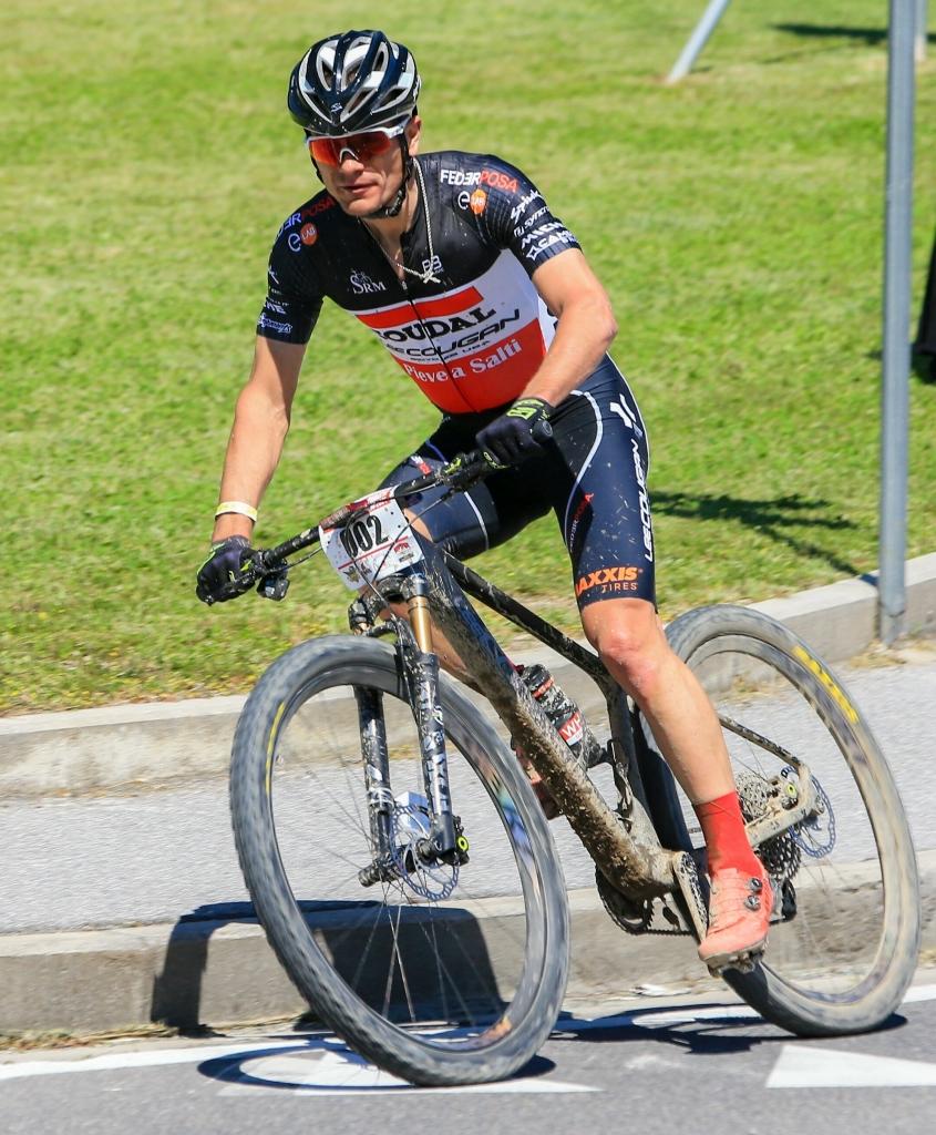 il vincitore della Durona Bike 2021, Aleksei Medvedev