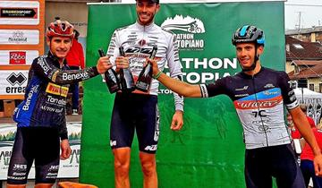 Trek Pirelli, Casagrande 2° alla Marathon dell'Altopiano