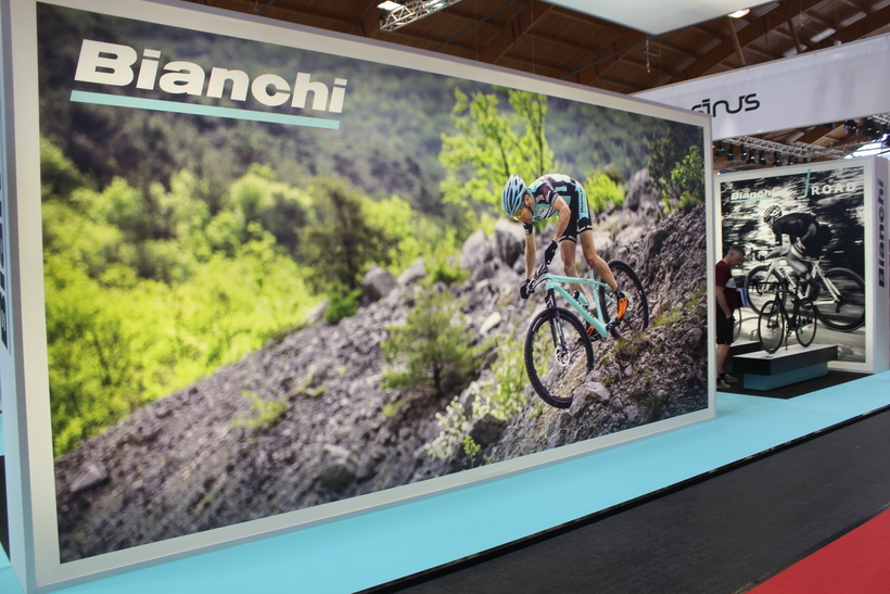Bianchi lo stand
