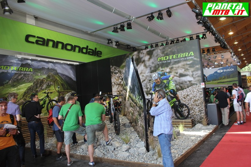 Cannondale a Eurobike 2016 Lo stand