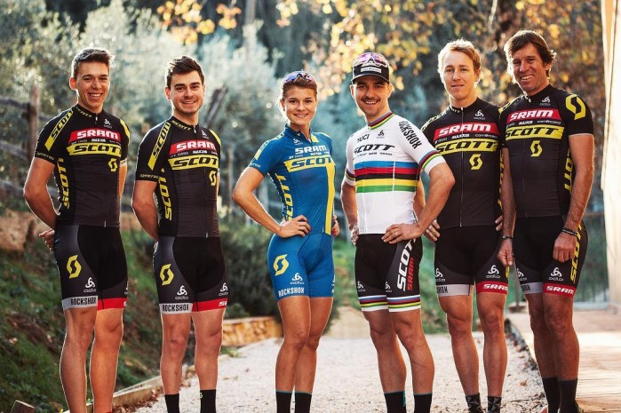 Scott SRAM MTB Racing team