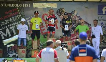 Racing Rosola, finalmente arriva la vittoria di categoria anche per Stefano Quinzani.