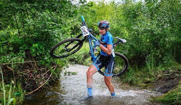 Torpado Sudtirol international MTB campione di lituania con Katazina Sosna. E' il sesto titolo.