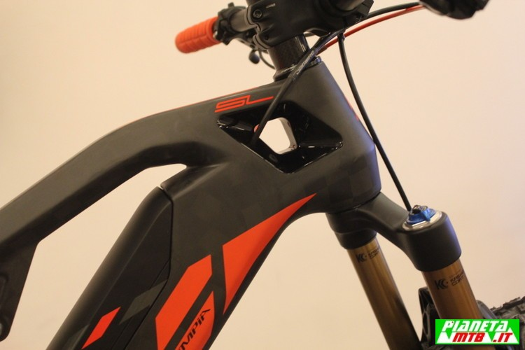 Olympia E1X full e.bike - mountain bike elettrica - serie sterzo