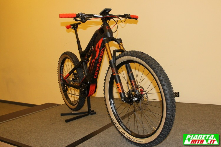 Olympia E1X full e.bike - mountain bike elettrica - primo piano