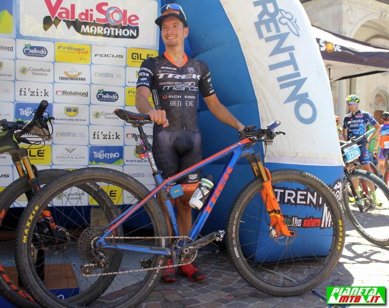 Fabian Rabensteiner al campionato italiano marathon
