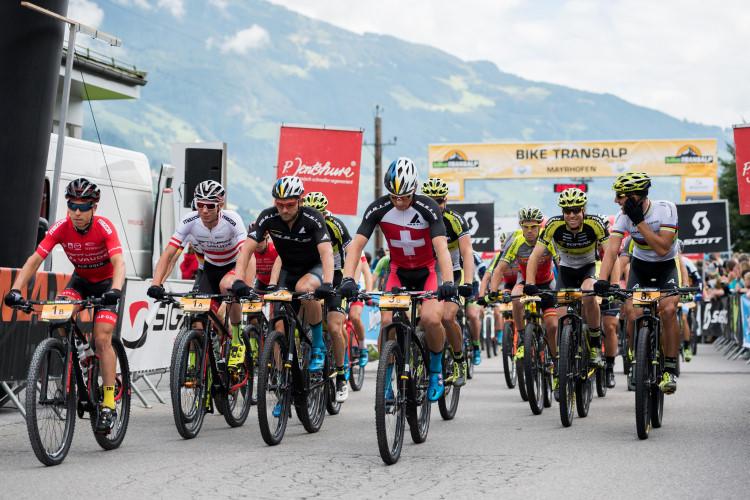 Bike Transalp 2017 partenza