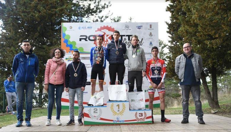 Rokketta Legend Cross country, il podio