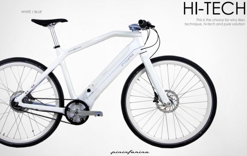 Mania ora arrivano anche pininfarina e kawasaki for Bici pininfarina peso