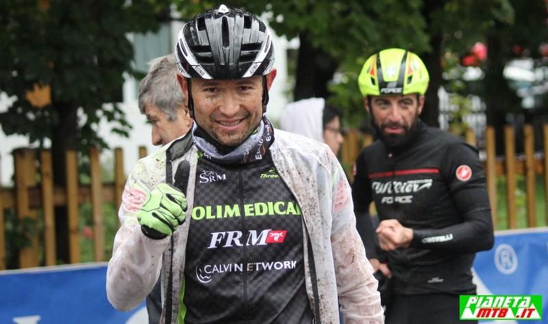 Leonardo Paez alla Val di Fassa Bike