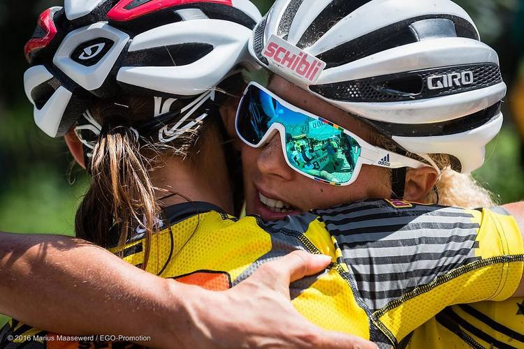 Adidas Zonyk Pro - occhiali mountain bike Jolanda Neff