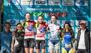 Merida Italia Team sul podio a Nalles