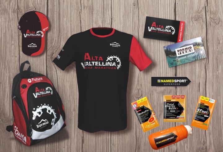 Alta Valtellina Bike Marathon il pacco gara