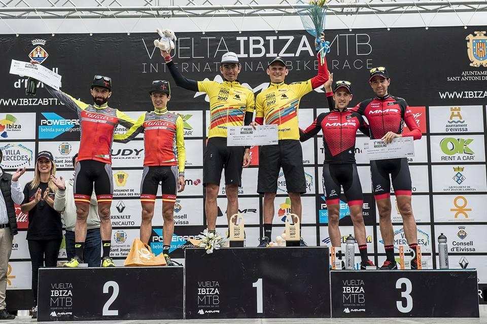 Vuelta a Ibiza BTT 2017 Podio finale