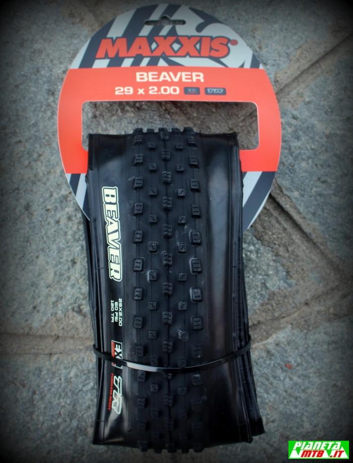 Maxxis Beaver copertoni mountain bike bagnato