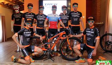 Il team Trek Selle San Marco, svela la nuova maglia e sogna ancora in grande